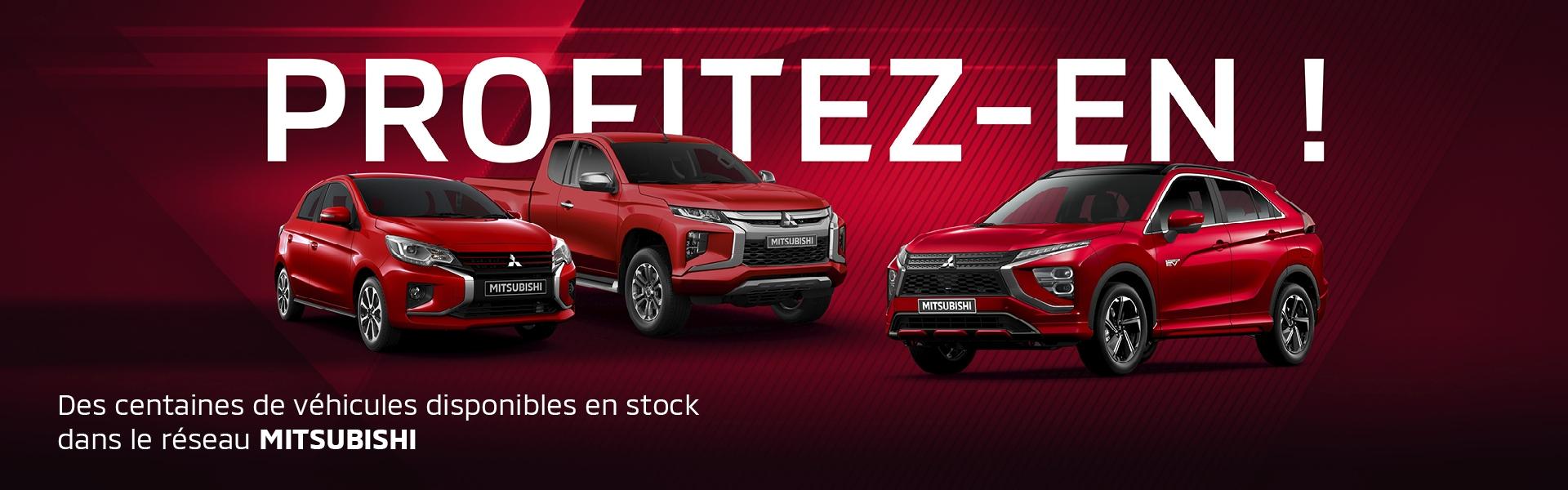 La gamme Mitsubishi Motors